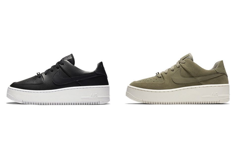 9cb99978a3d8 Nike Releases New Air Force 1 Sage Low Designs
