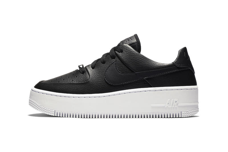 Nike Air Force 1 Sage Low Black White