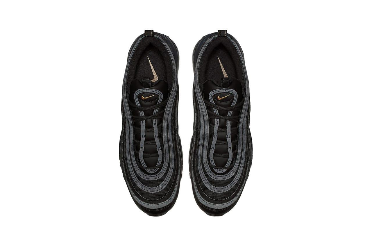 Nike Releases Air Max 97 in Black Metallic Gold