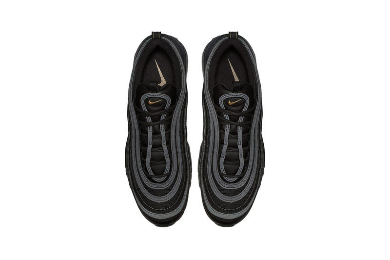ca5861dd8e Nike Releases Air Max 97 in Black Metallic Gold | HYPEBAE