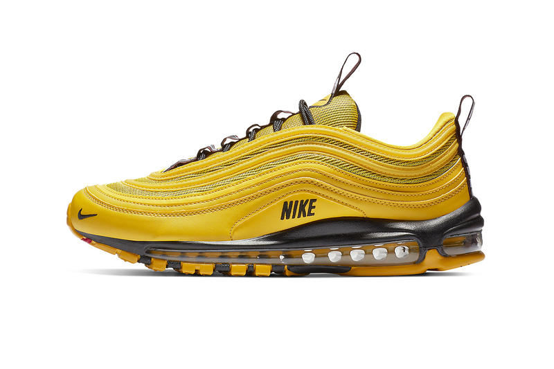 detailed look 1cf2f c2afa Nike Air Max 97 Bright Citron Yellow Taxi Trainers Sneakers