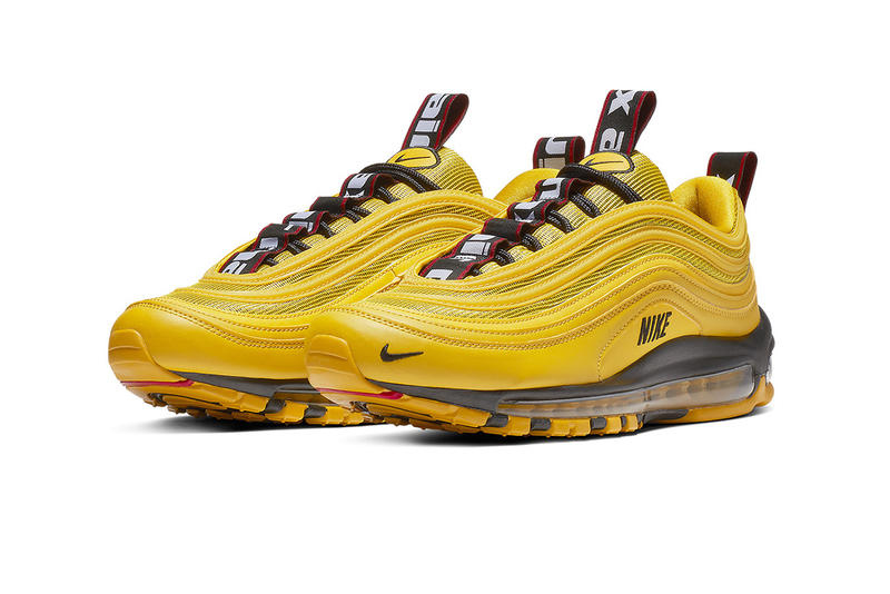 Nike Air Max 97 Bright Citron Yellow Taxi Trainers Sneakers