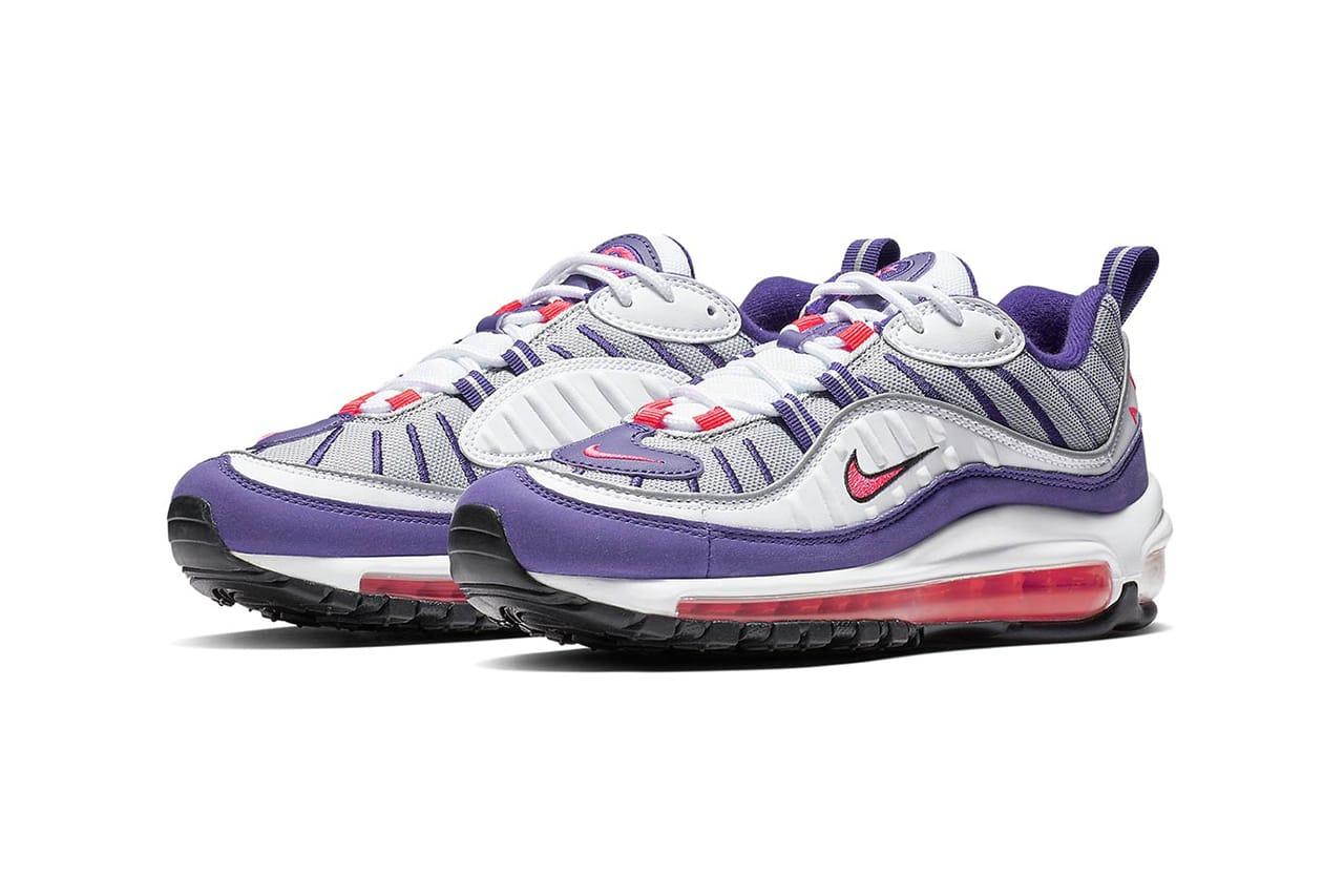 Nike Purple \u0026 Red Air Max 98 Retro