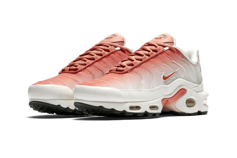 032b3721a39 Nike Air Max Plus Faded Coloring Gradient Pink White