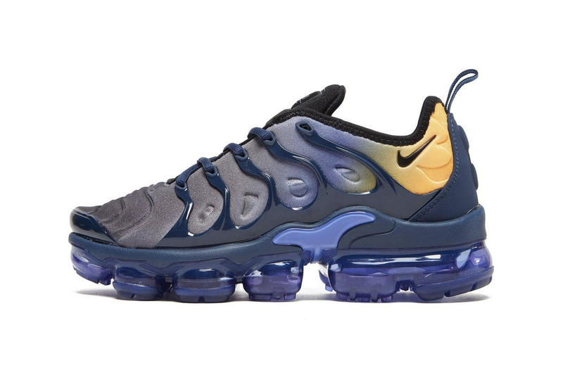 sale retailer 8a602 12761 Nike Air VaporMax Plus Blue/Yellow Ombré | HYPEBAE