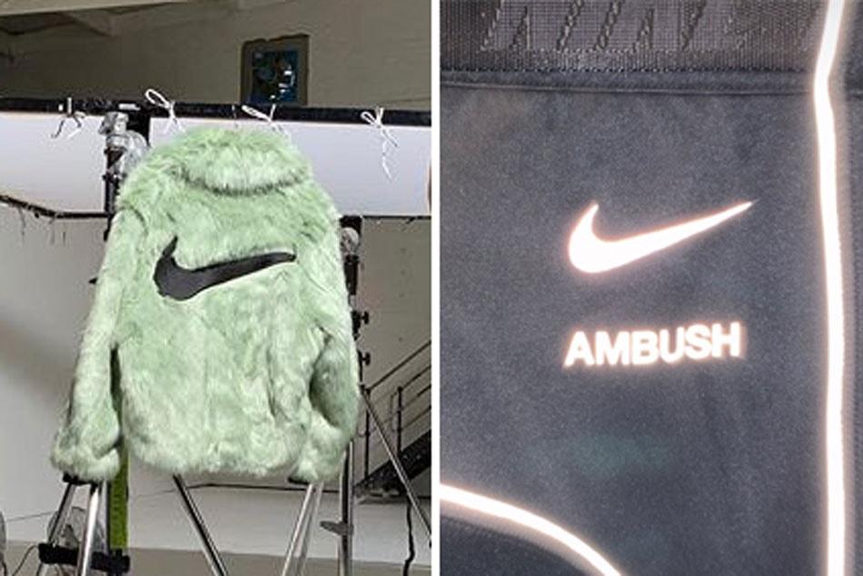 Yoon Teases Nike x AMBUSH Jacket and T-Shirts | HYPEBAE