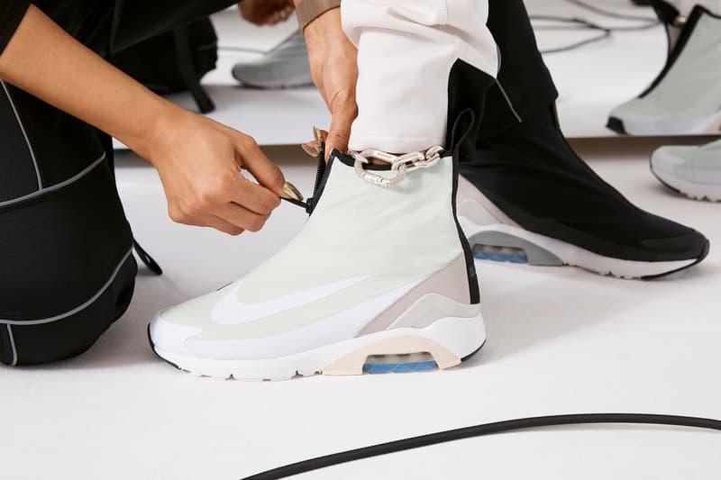 Ambush Nike Yoon Ahn Collaboration Logo Swoosh white green Air Max 180