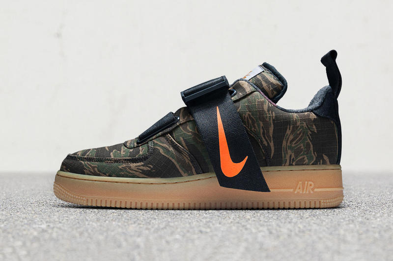 the best attitude c8c15 132de Carhartt WIP x Nike Air Force 1 Low Utility Camouflage