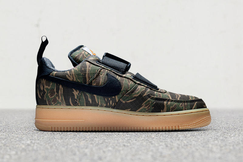 Carhartt WIP x Nike Air Force 1 Low Utility Camouflage