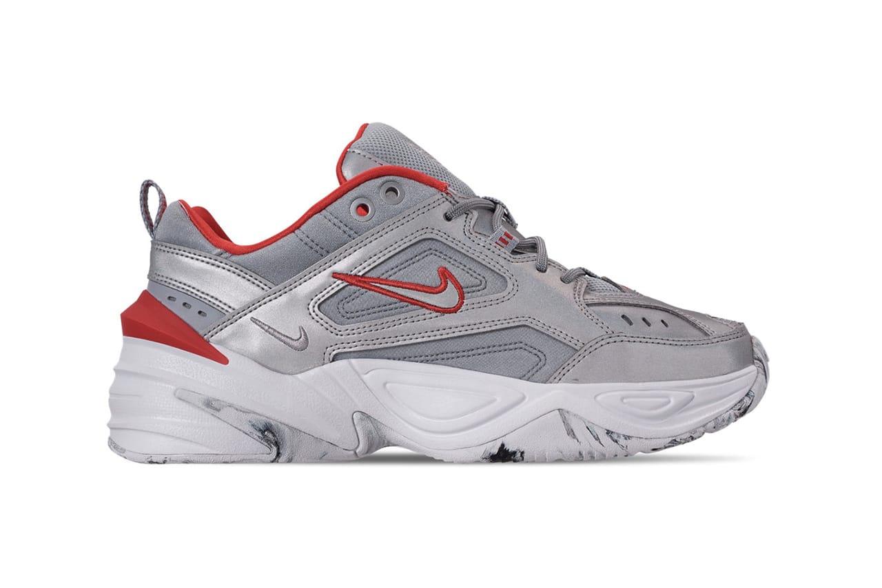 Nike M2K Tekno Metallic Silver Marbled