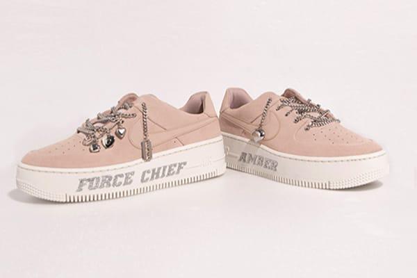 custom suede air force 1