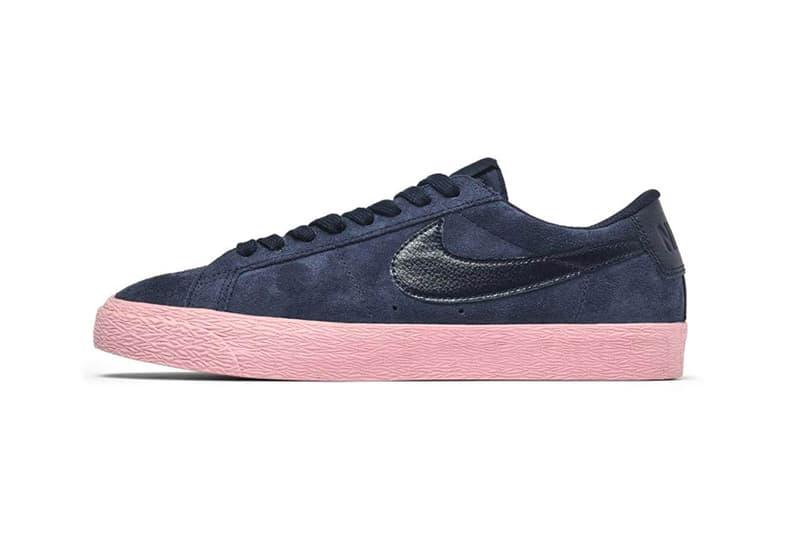 Nike SB Blazer Low Navy Pink