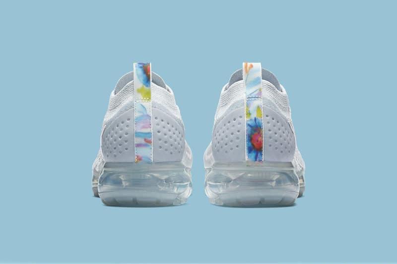 Nike Air VaporMax Flyknit 2.0 Pure Platinum Floral