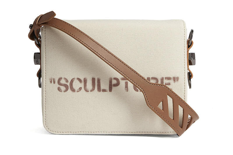 Off-White Canvas and Leather SCULPTURE Bag Virgil Abloh