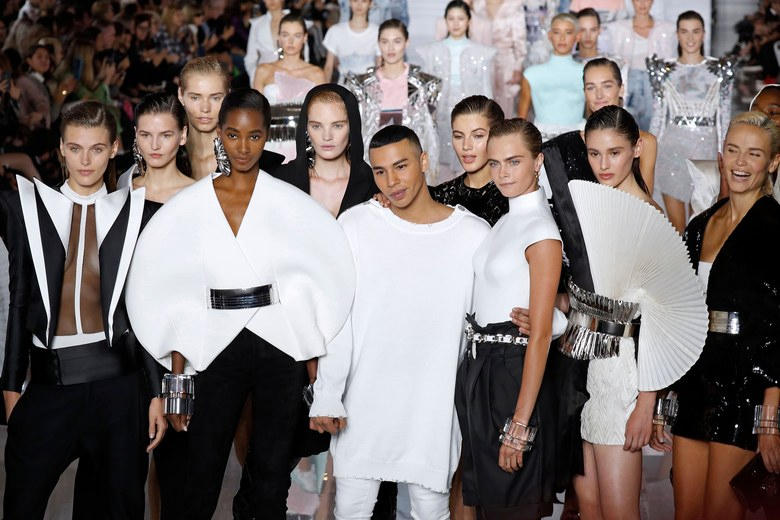 Balmain's Olivier Rousteing Brings Back Couture Fashion News Announcement Spring Summer 2019