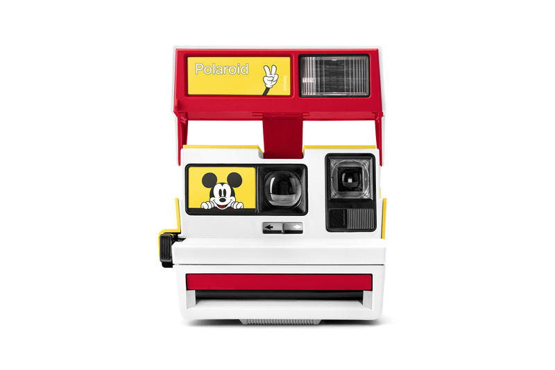 Mickey Mouse x Polaroid Originals 600 Camera White Red Yellow