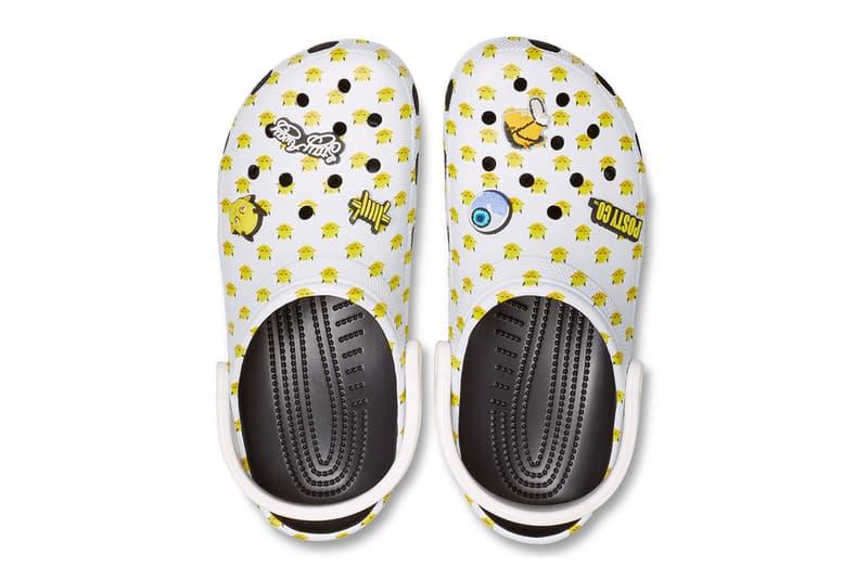 Crocs Post Malone Collaboration Release Shoe Sandal Rubber