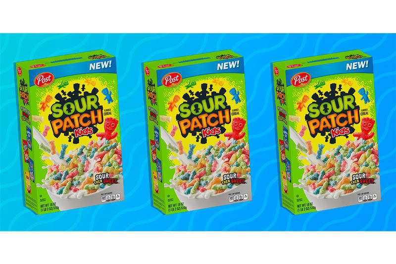 Post Sour Patch Kids Cereal