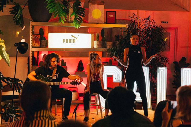 PUMA Cali Sneaker New Colorway Launch Party Performance Sinead Harnett