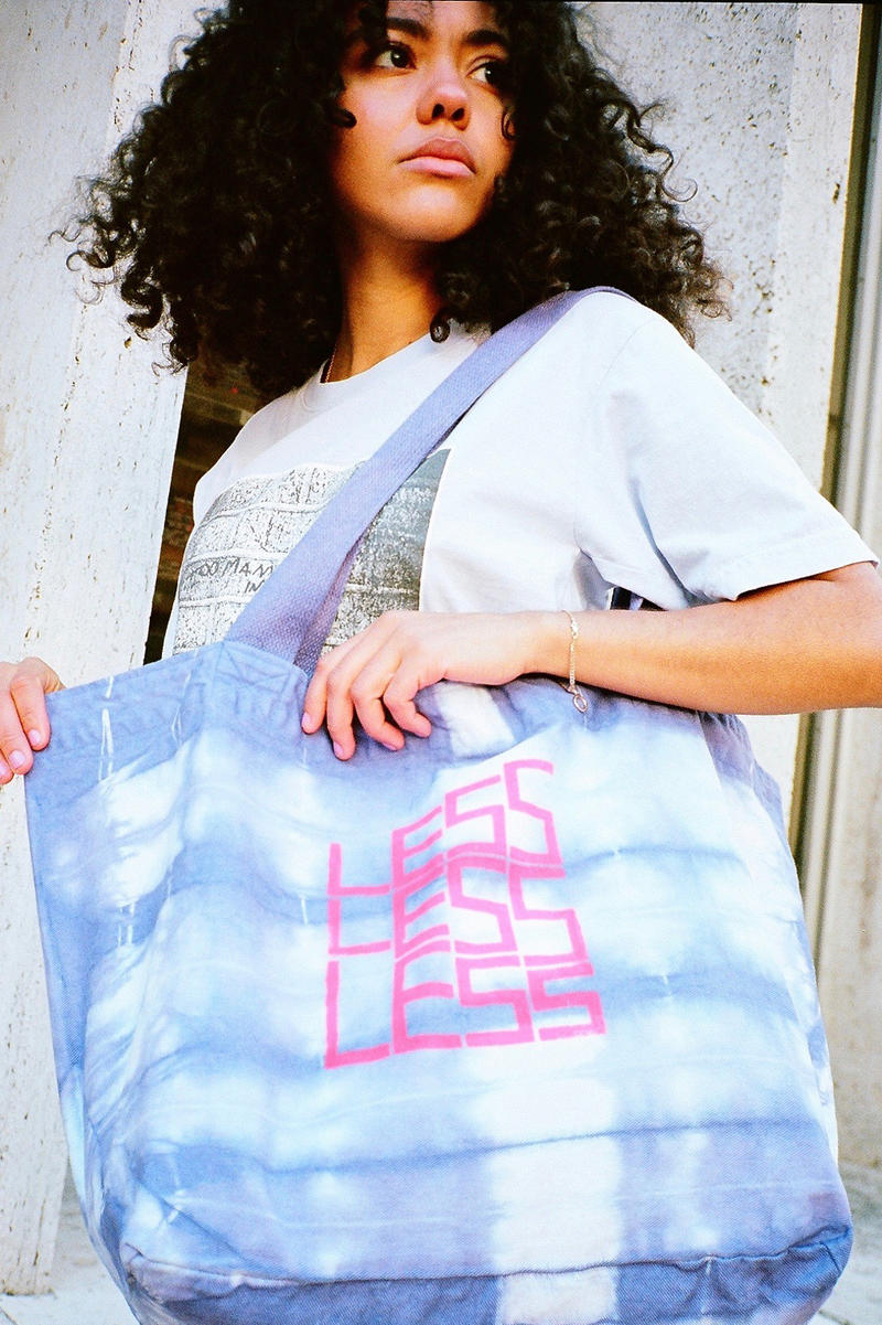 Shaniqwa Jarvis x X-Girl Capsule Collection Tote Bag Purple