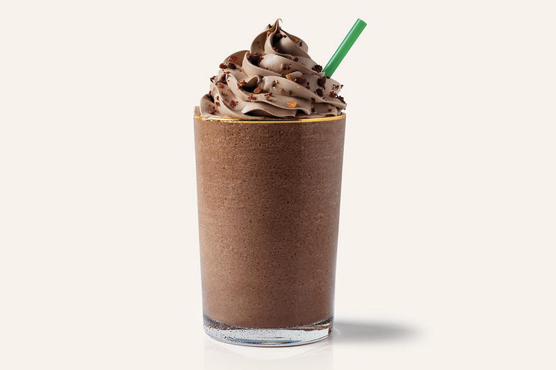 Starbucks Salted Caramel Brownie Frappuccino UK Europe Christmas