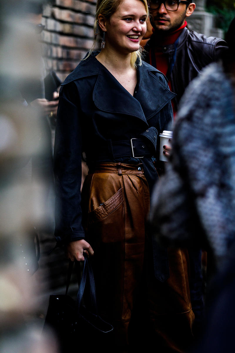 street style streetsnaps tbilisi fashion week ss19 spring summer 2019 jw anderson burberry dior saddle bag georgia demna gvasalia vetements balenciaga