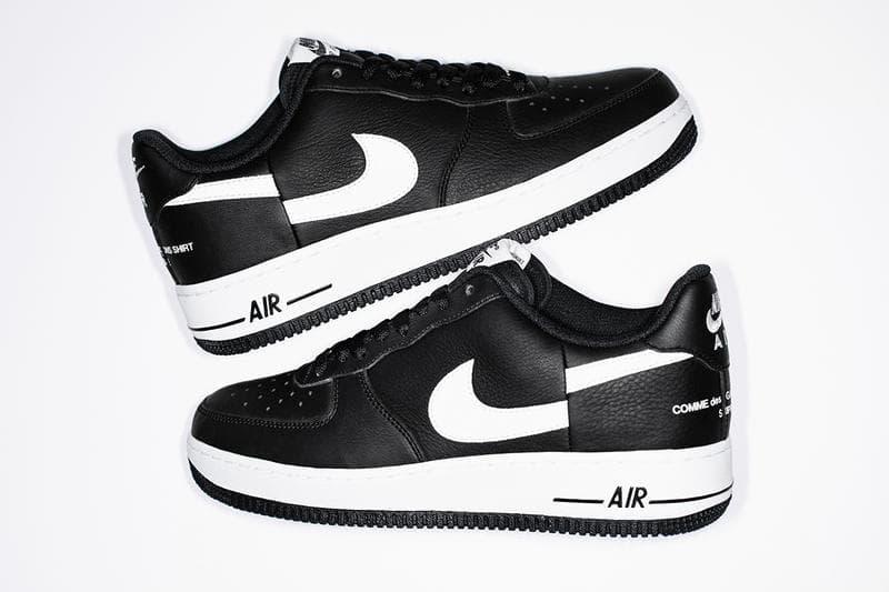 on sale bcb84 ba4cd Supreme x COMME des GARÇONS Shirt Nike AF1 Release Date ...