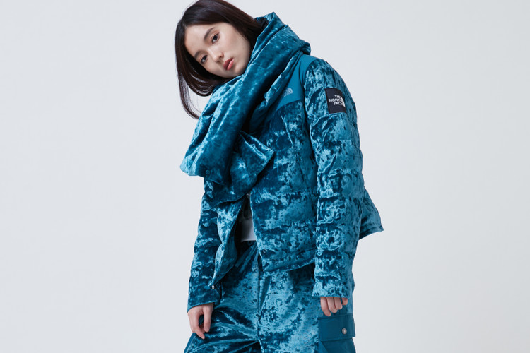 3e28490998ce The North Face s Latest Collection Is All About Velvet