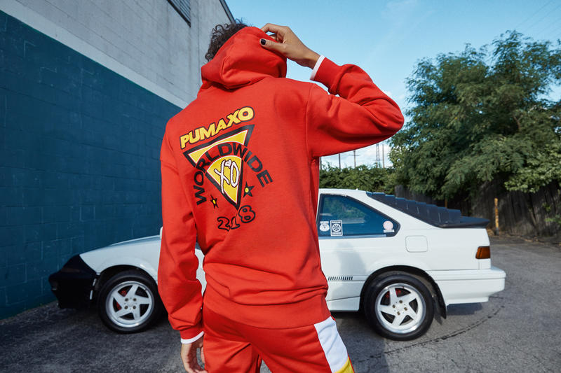PUMA x XO Fall Winter 2018 Collection Drop 2 Track Jacket Pants Red