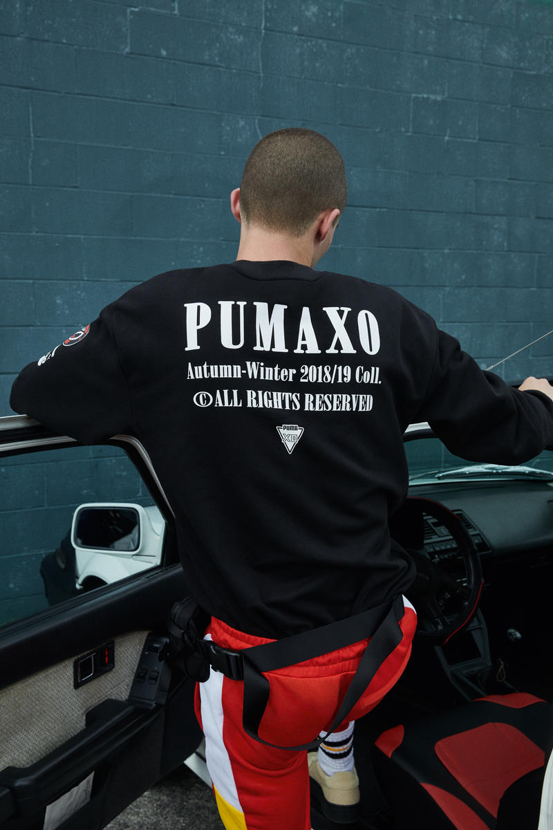 PUMA x XO Fall Winter 2018 Collection Drop 2 Shirt Black