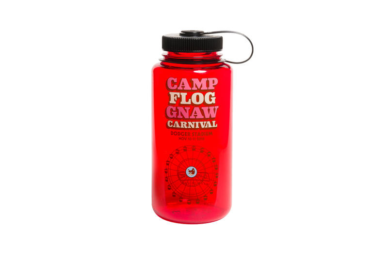Tyler, The Creator Camp Flog Gnaw 2018 Merch Water Bottle Red