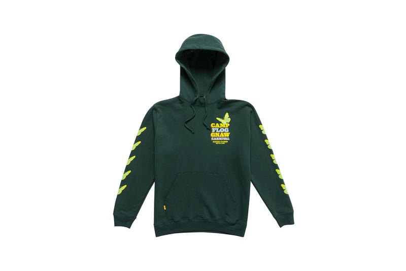 Tyler, The Creator Camp Flog Gnaw 2018 Merch Hoodie Green
