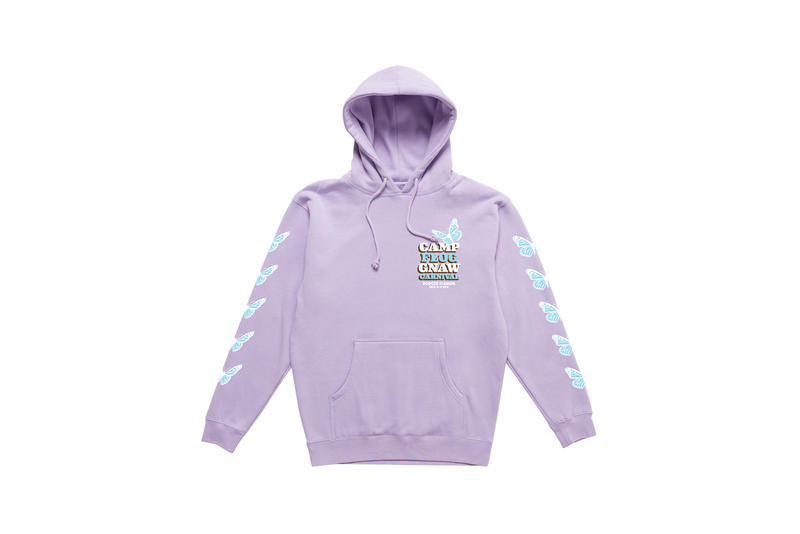 Tyler, The Creator Camp Flog Gnaw 2018 Merch Hoodie Purple