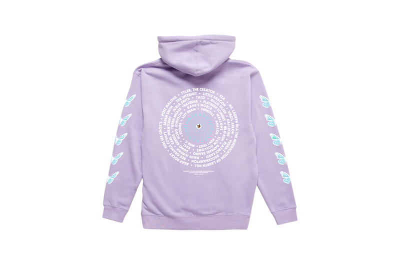 Tyler, The Creator Camp Flog Gnaw 2018 Merch Hoodi Purple