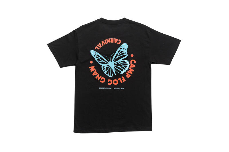 Tyler, The Creator Camp Flog Gnaw 2018 Merch T-shirt Black