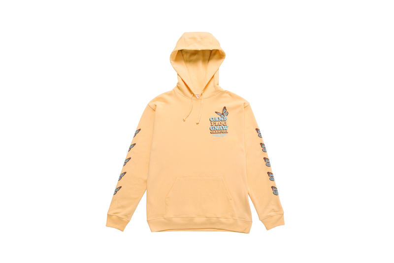 Tyler, The Creator Camp Flog Gnaw 2018 Merch Hoodie Tan