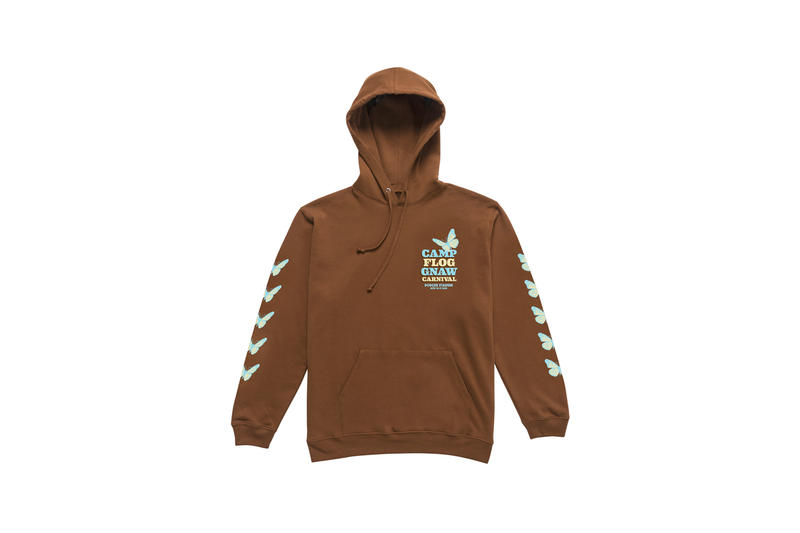 Tyler, The Creator Camp Flog Gnaw 2018 Merch Hoodie Brown