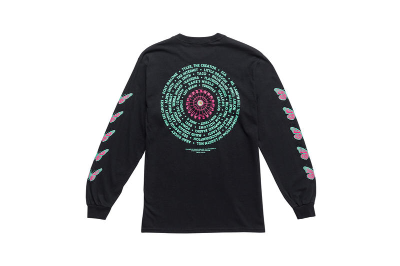 Tyler, The Creator Camp Flog Gnaw 2018 Merch Long Sleeve T-shirt Black
