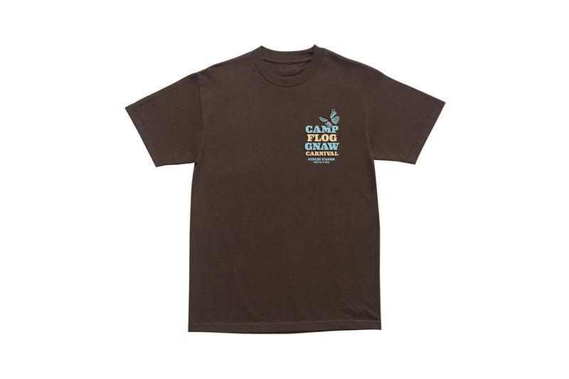Tyler, The Creator Camp Flog Gnaw 2018 Merch T-shirt Brown