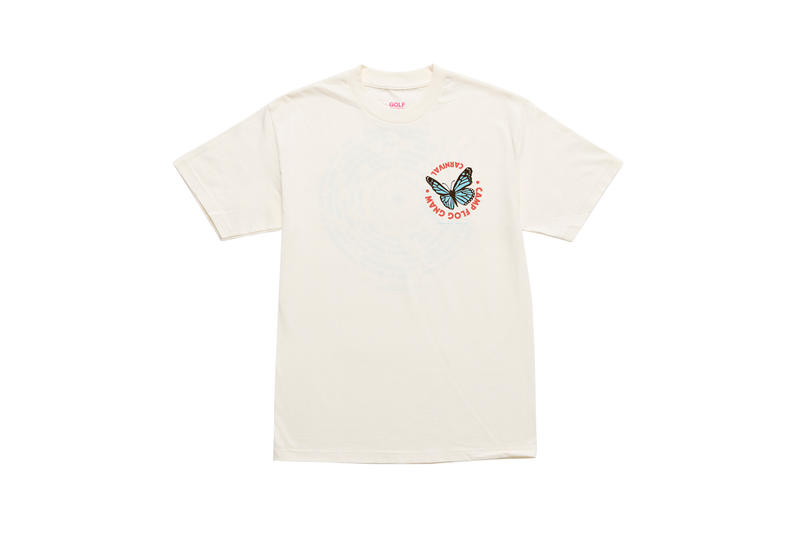 Tyler, The Creator Camp Flog Gnaw 2018 Merch T-shirt Cream