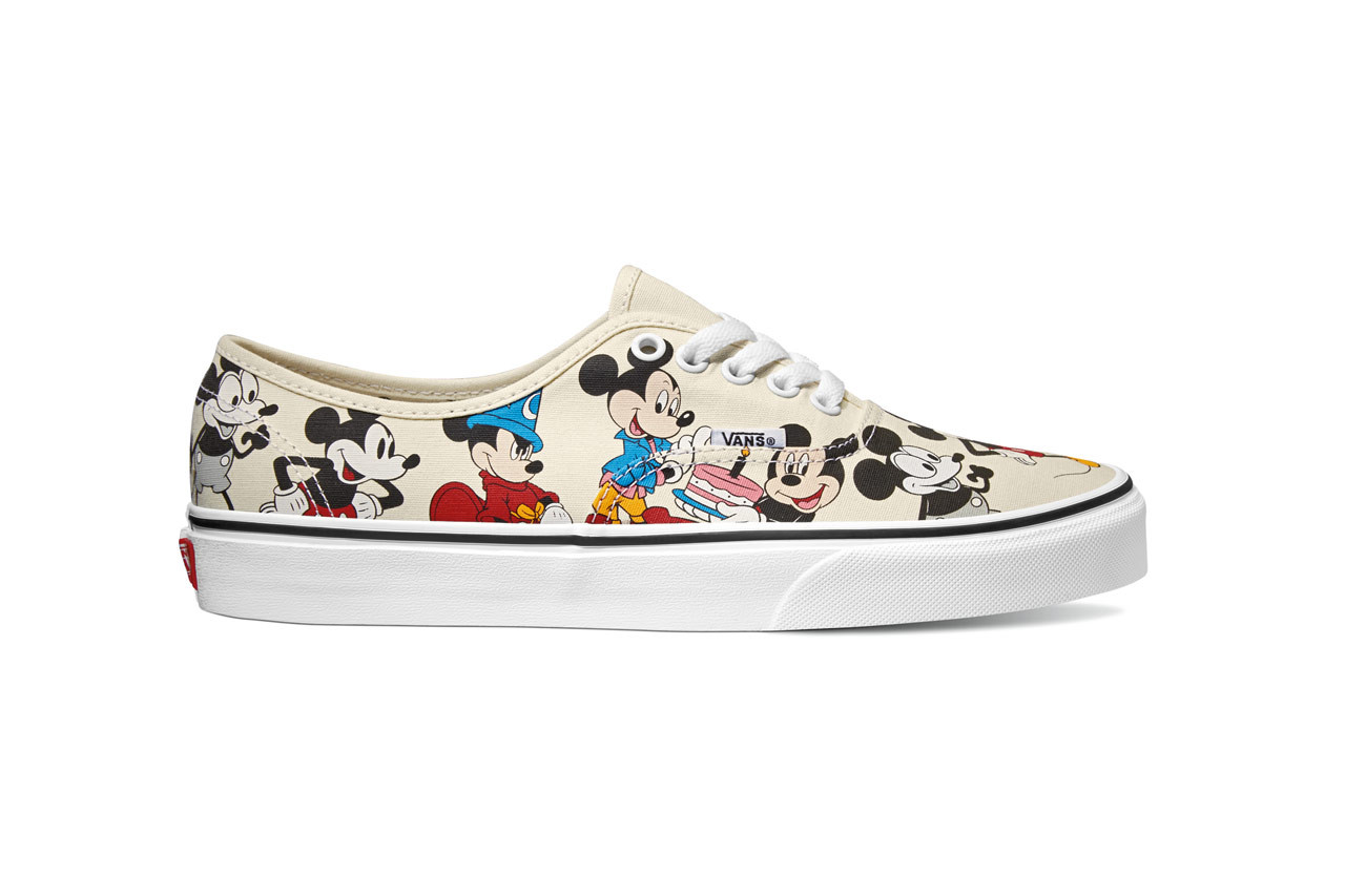 Vans' Mickey Mouse Authentic and T
