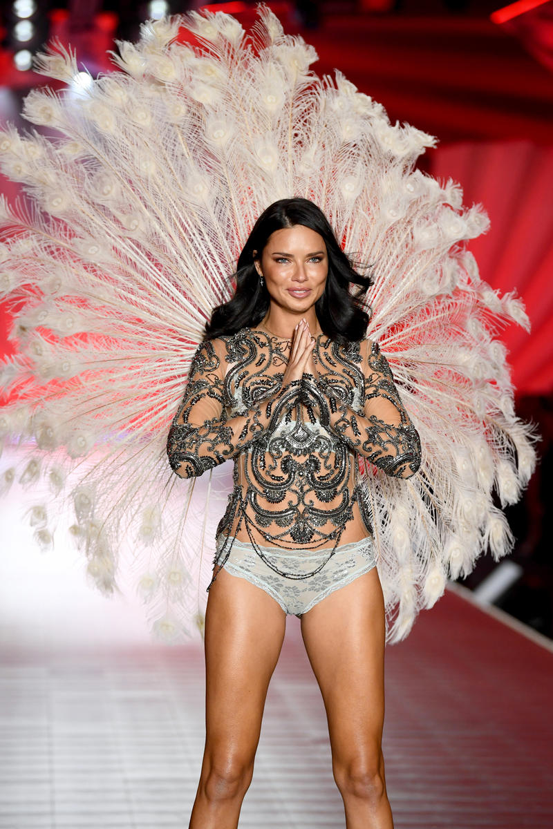 2018 Victoria's Secret Fashion Show Adriana Lima