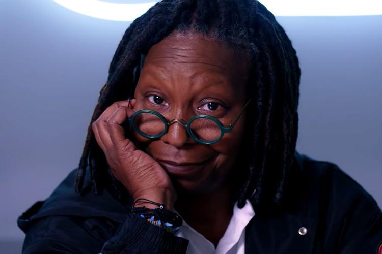 e0909814ff6 Whoopi Goldberg Shares Her Love for Nike s Foamposites on  Sneaker Shopping