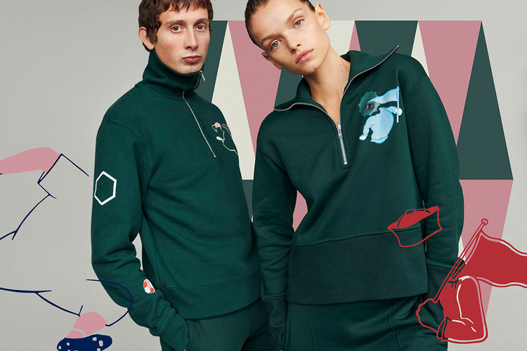 bb252647823 Wood Wood x Champion Team up for a Sporty FW18 Collection