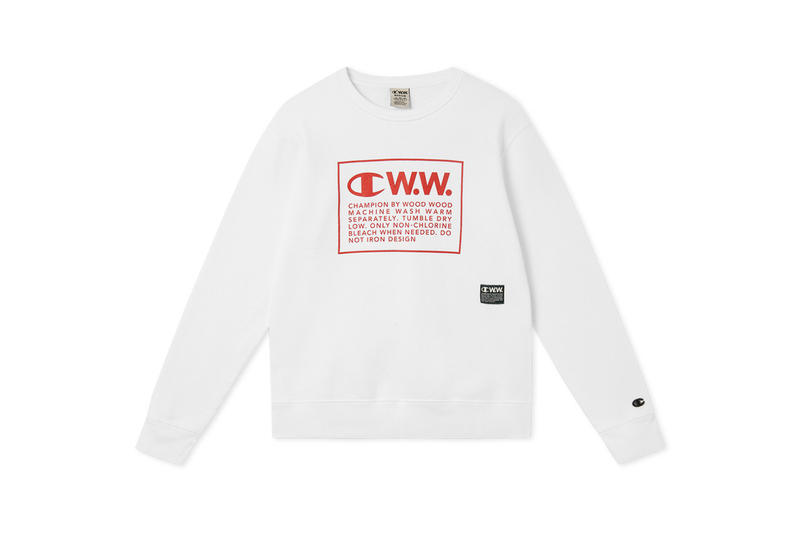 Wood Wood x Champion Fall/Winter 2018 Lookbook Collaboration Fashion Capsule Range Sportswear Graphics