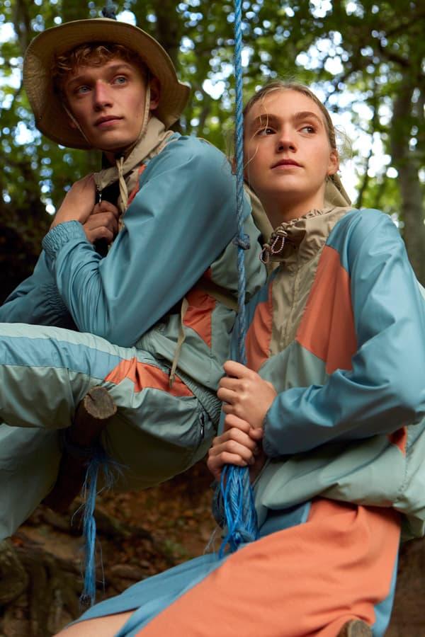 Wood Wood Spring Summer 2019 Lookbook Jackets Pink Blue