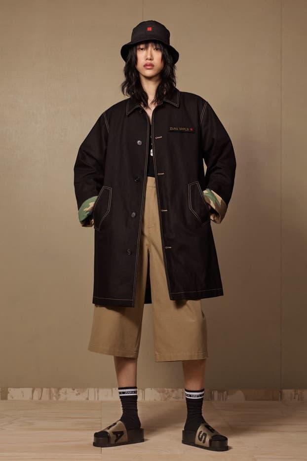 Zara SRPLS 2018 Collection Lookbook Jacket Blue Pants Navy