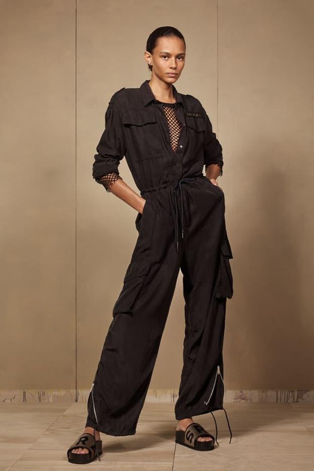 Zara SRPLS 2018 Collection Lookbook Jumpsuit Black