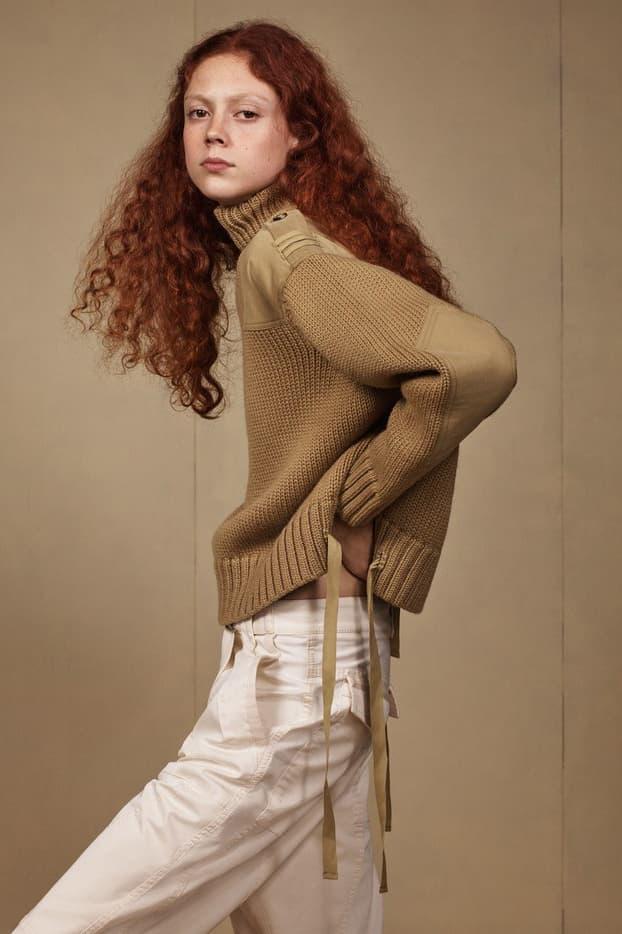 Zara SRPLS 2018 Collection Lookbook Sweater Tan