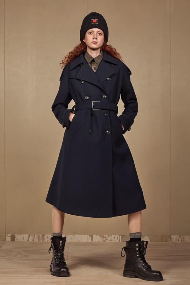 Zara SRPLS 2018 Collection Lookbook Jacket Blue Hat Black